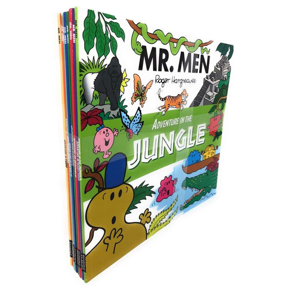 Mr Men Adventure Series Collection 8 Books Set - Roger Hargreaves, Jungle
