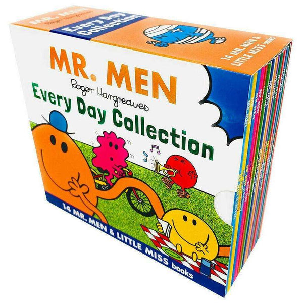 Mr Men and Little Miss Everyday Collection 14 Books Slipcase Set