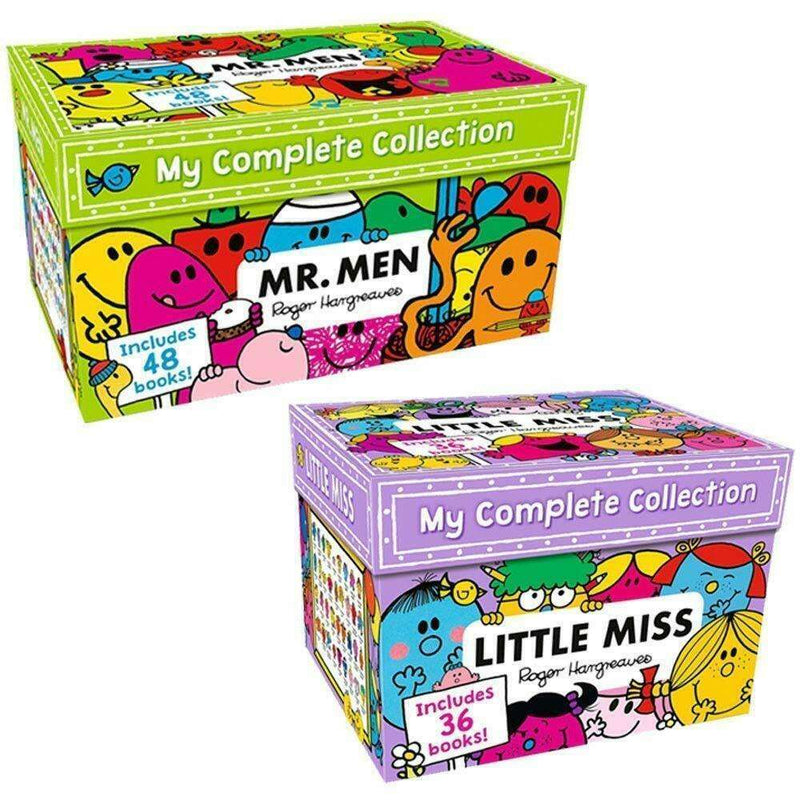 Mr Men & Little Miss My Complete Collection By Roger Hargreaves 84 Books Set