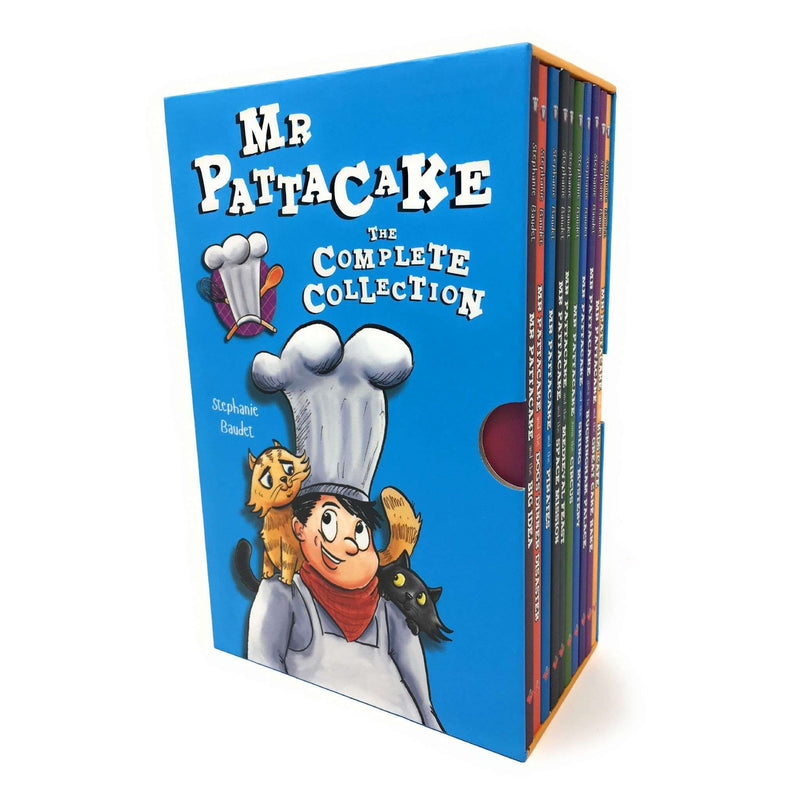 Mr Pattacake The Complete Collection 10 Books Box Set - Pirates, Medieval, Space