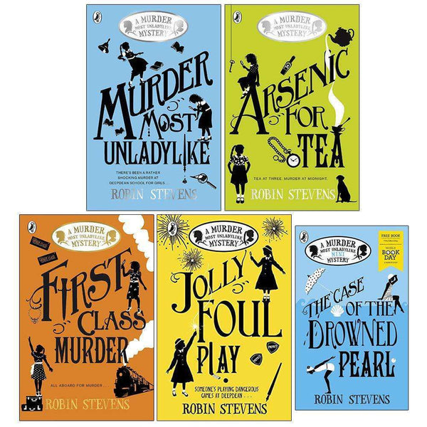 Murder Most Unladylike Mystery Series Book 1,2,3,4 & World Book Day 5 Books Set