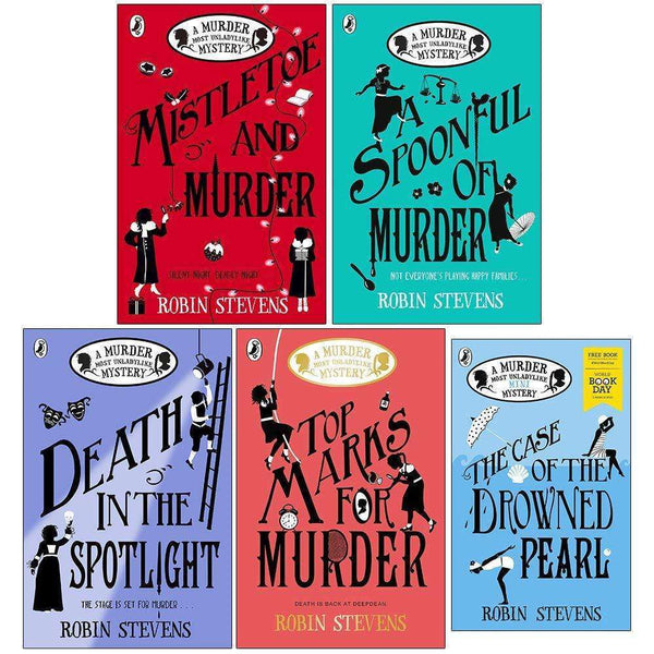Murder Most Unladylike Mystery Series Book 5,6,7,8 & World Book Day 5 Books Set