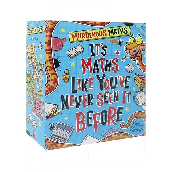 Murderous Maths 4 Book Set Collection By Kjartan Poskitt Maths Like You've never