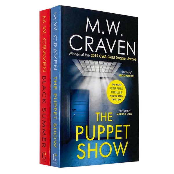 M W Craven 2 Books Collection Set (Black Summer, The Puppet Show)