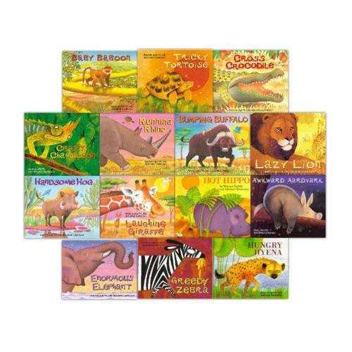 Mwenye Hadithi African Folk Tale Collection 14 Books Set (African Animal Tales)