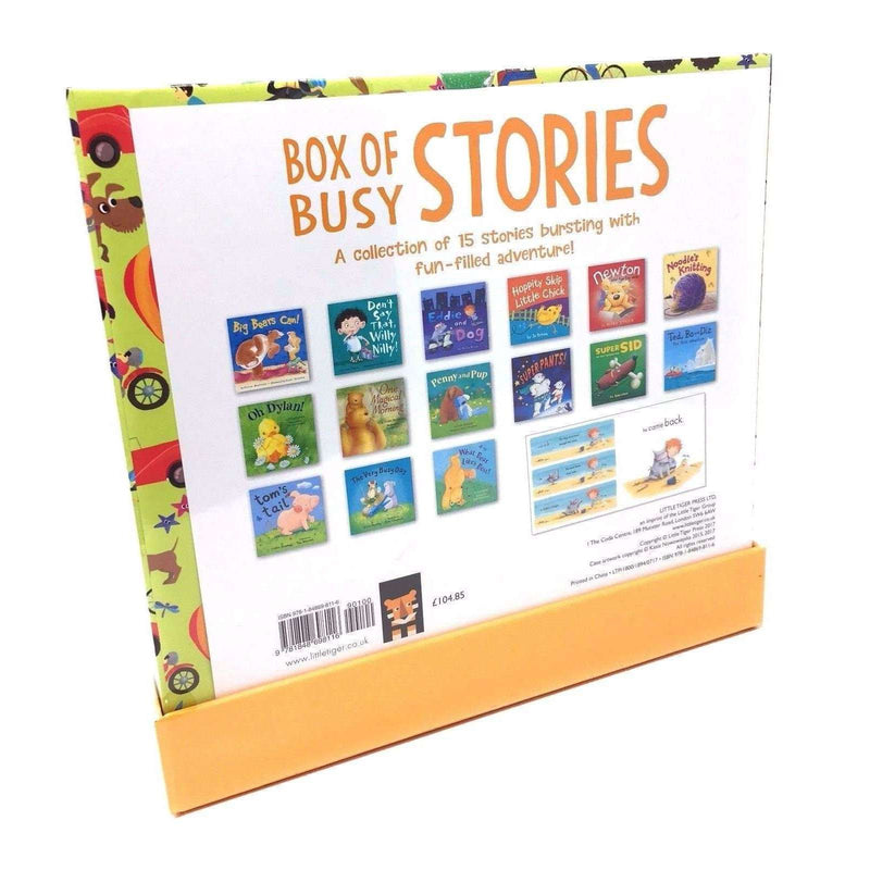 My Big Box of Busy Stories Collection 15 Books Box Set Children Reading Books
