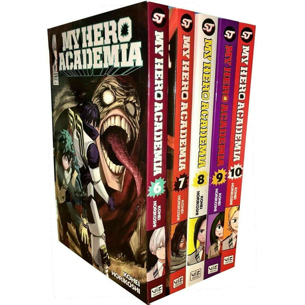 My Hero Academia Series 2 (6-10) 5 Books Collection Set by Kohei Horikoshi