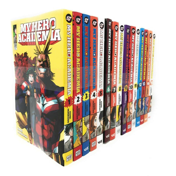 My Hero Academia Series(Vol 1-15) Collection 15 Books Set By Kohei Horikoshi