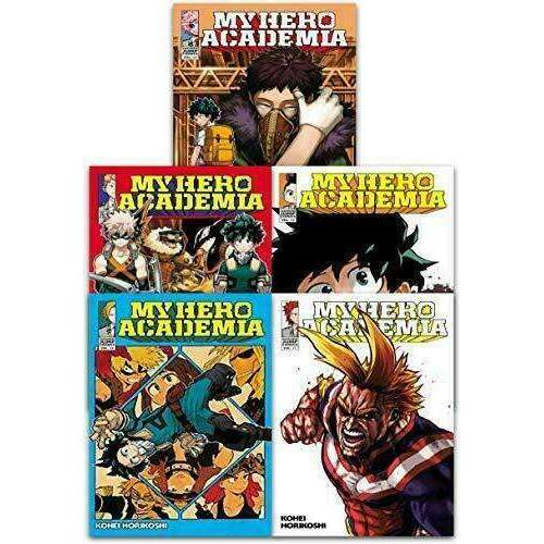 My Hero Academia Series(Vol 11-15) Collection 5 Books Set By Kohei Horikoshi