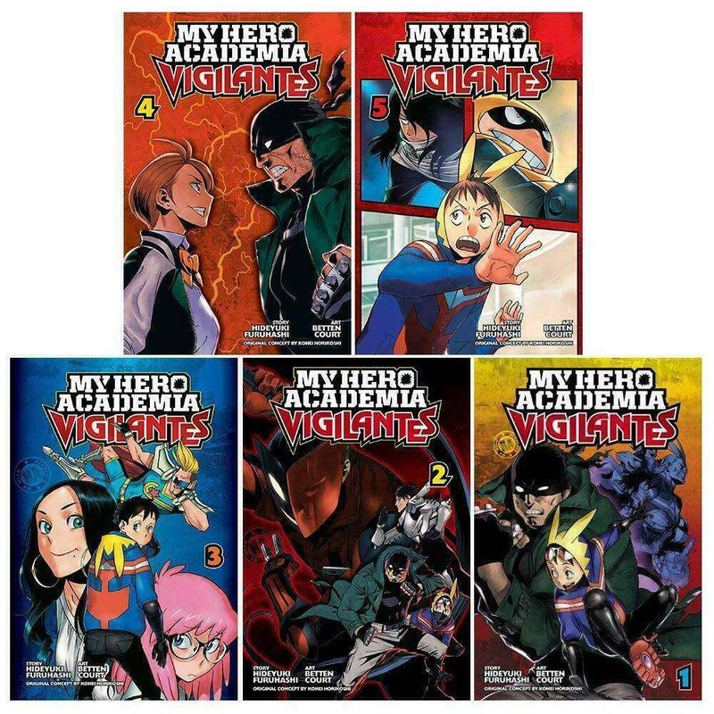 My Hero Academia: Vigilantes Vol.1-5 Collection 5 Books Set Series Pack