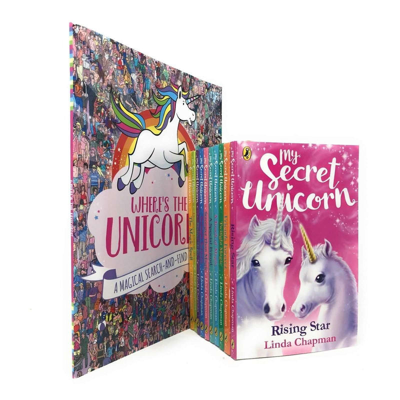 My Secret Unicorn Linda Chapman 11 Books Collection Set- Where's the Unicorn?