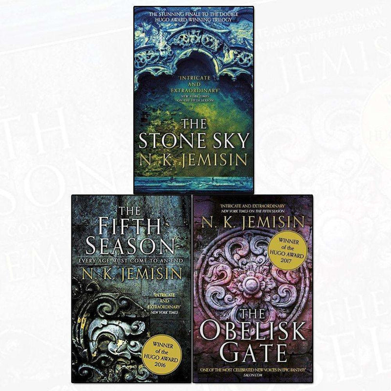 N. K. Jemisin The Broken Earth Trilogy Collection 3 Books Set The Fifth Season