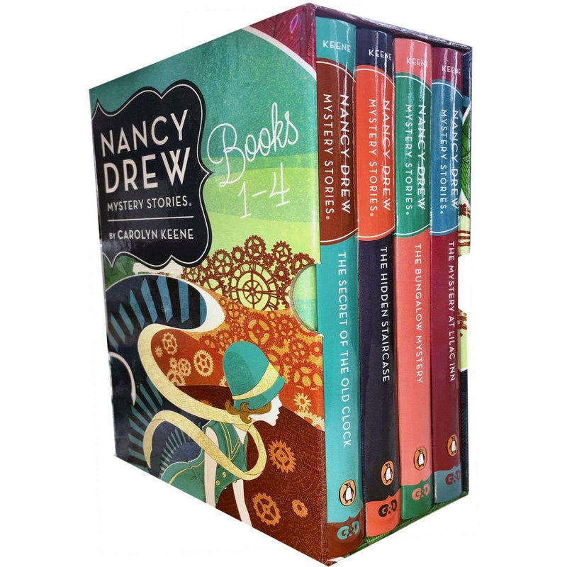 Nancy Drew Stories Collection 4 Books Box Set Pack The Secret of the Old Clock