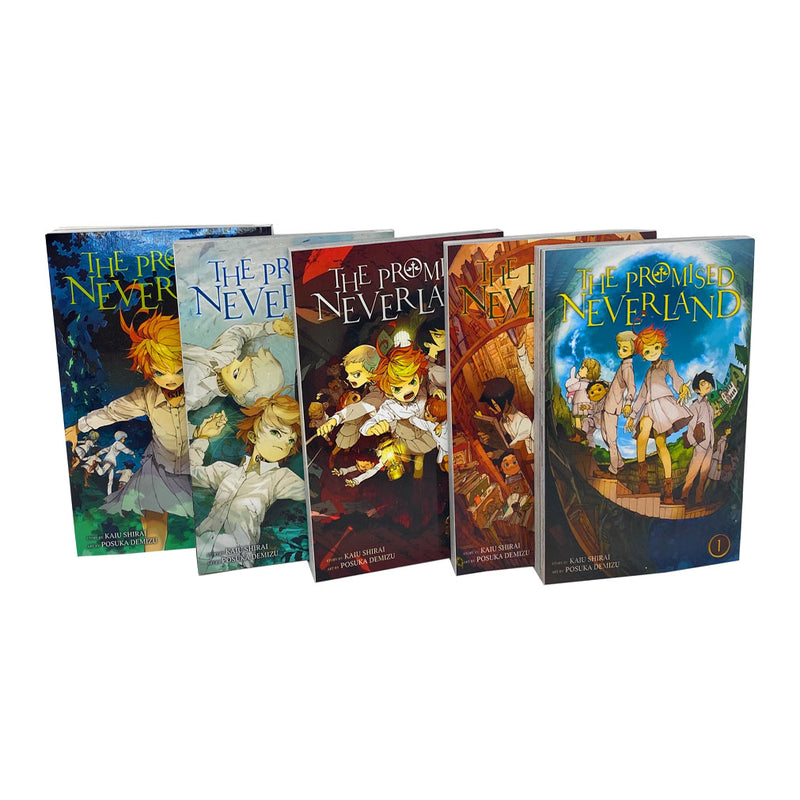 Kaiu Shirai By The Promised Neverland Vol 1-5 Books Collection Set