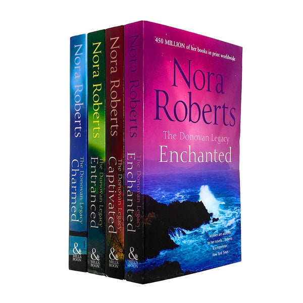 The Donovan Legacy Series 4 Books Collection Set By Nora Roberts