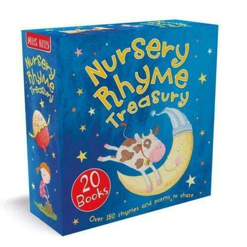 Nursery Rhyme Treasury 20 Books Collection Box Set by Miles Kelly