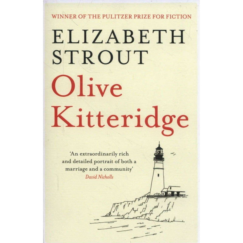 Olive Kitteridge Book By Elizabeth Strout - Winner of The Pulitzer Prize