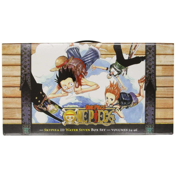 One Piece Skypiea and Water Seven Books Box Set Volumes 24 - 46