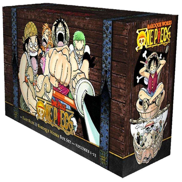 One Piece The Complete Collection Books Box Set 1-23 By Eiichiro Oda Anime & Manga