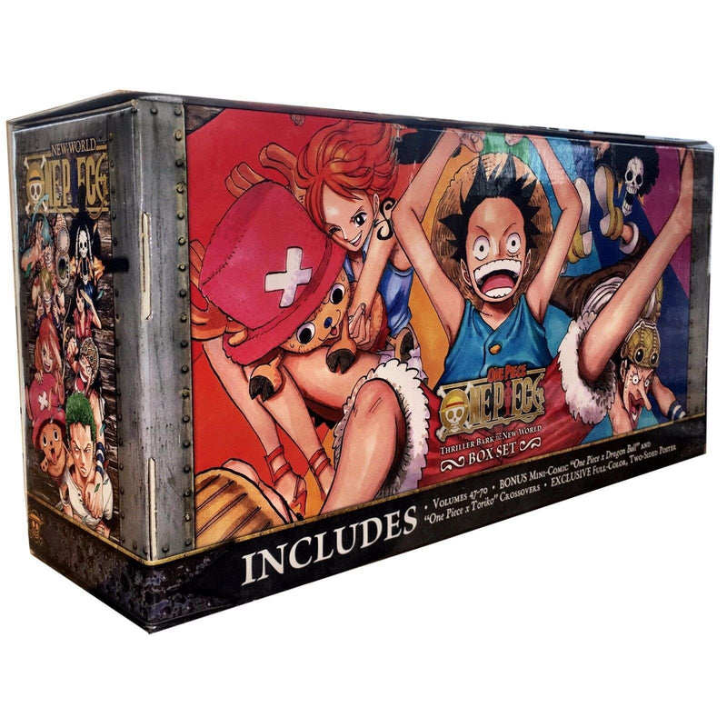 One Piece The Complete Collection Books Box Set 3 47-70