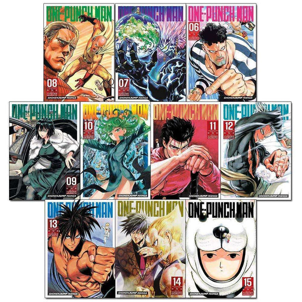 One Punch Man Volume 6-15 Collection 10 Books Set Children Manga Book