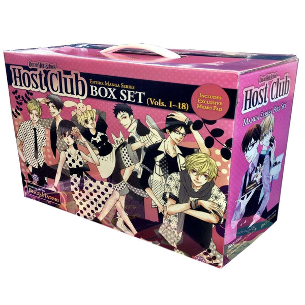 Ouran High School Host Club Box Set by Bisco Hatori 18 Books Collection Set