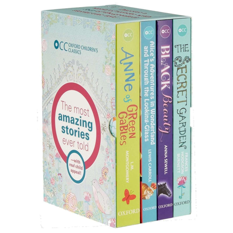 Oxford Children Classics World of Wonder 4 Books Collection Box Set Black Beauty