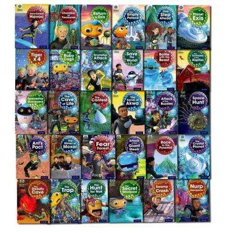 Oxford Reading tree Project X, Alien Adventures 31 books set collection - Series 1