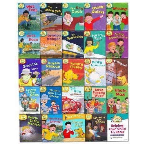 Oxford Reading Tree Read With Biff and Chip Kipper Collection 25 Books Set Level 4-6