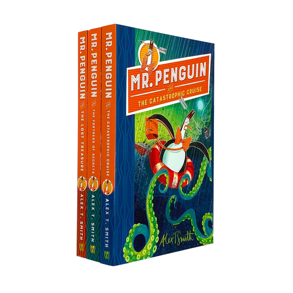 Mr Penguin and the Lost Treasure Collection 3 Books Collection Set By Alex Smith