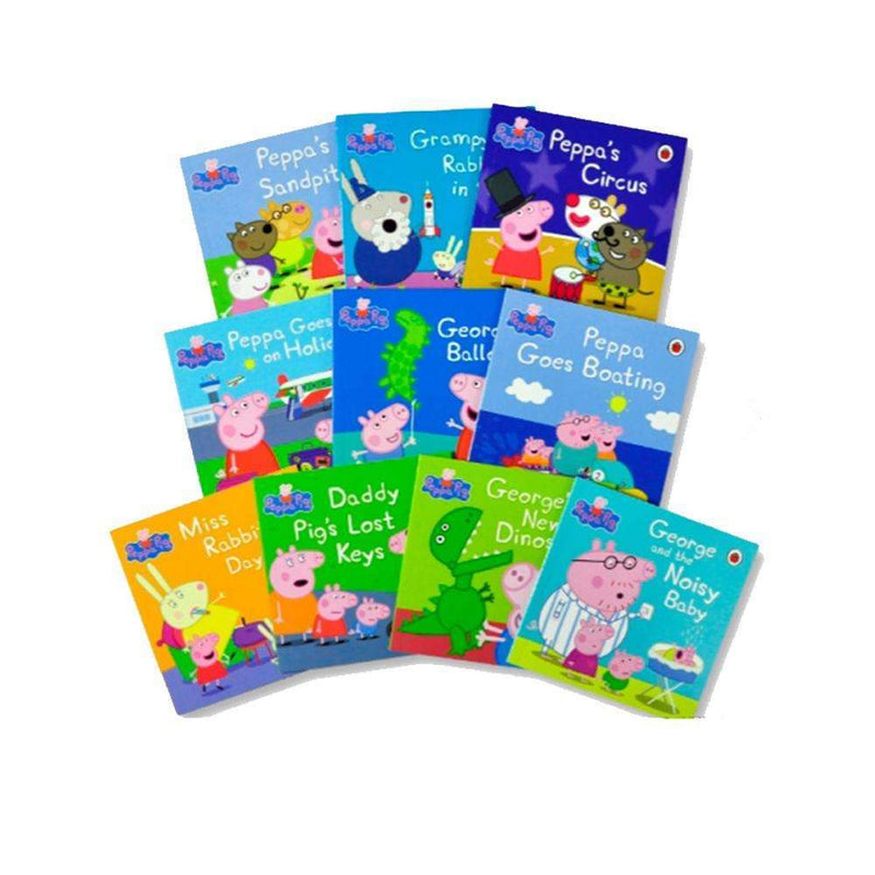 Peppa Pig Stories 10 Audio Books CD Set Collection