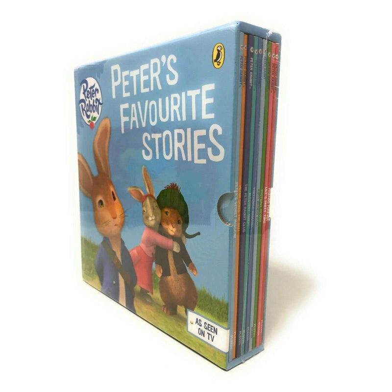 Peter Rabbit Collection Peter's Favorite Stories 9 Books Set - As Seen On TV