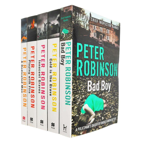 Peter Robinson 5 Books Collection Set Series 2 (Bad Boy,Innocent Graves)