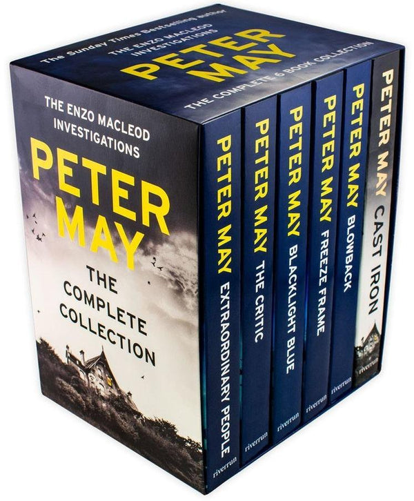 Peter May Enzo File Series Collection 6 Books Set Extraordinary People, Blowback