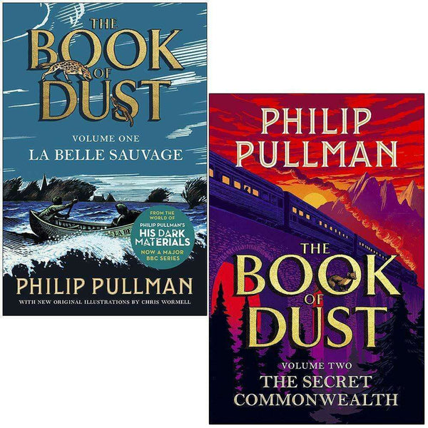 Philip Pullman Book of Dust 2 Books Collection Set The Secret Commonwealth