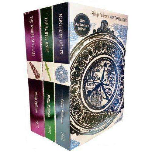 Philip Pullman His Dark Materials Trilogy 3 Books Collection Set Pack