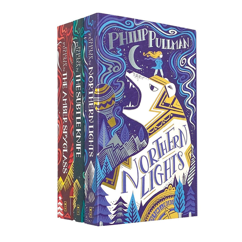 His Dark Materials Trilogy 3 Books Collection Set Paperback By Philip Pullman