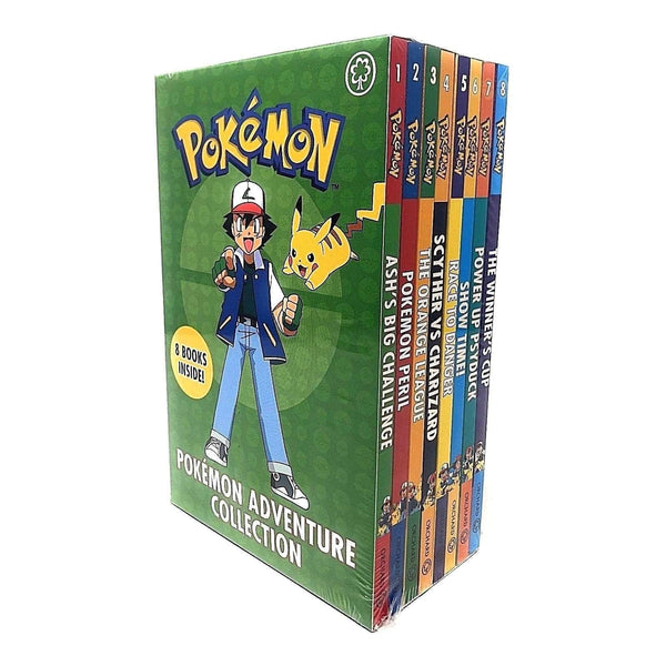 Pokemon Adventure Collection 8 Books Box Set Children's Pack Ash's Big Adventure