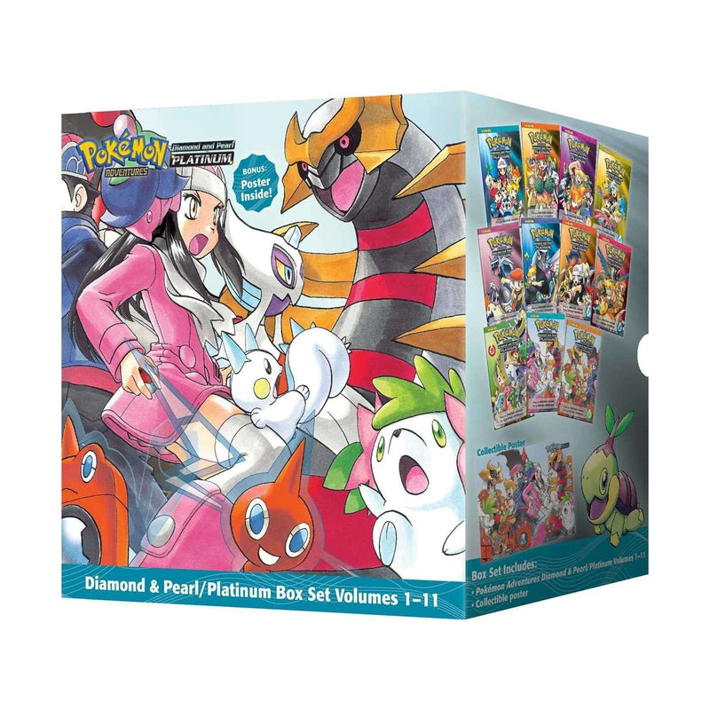 Pokemon Adventures Diamond & Pearl Platinum Collection 11 Books Box Set