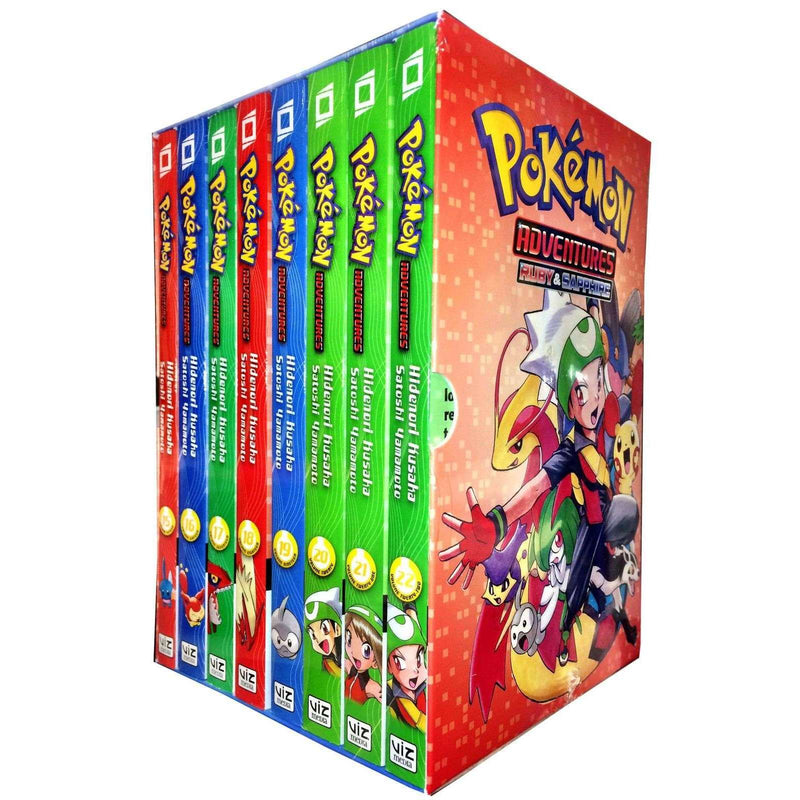 Pokemon Adventures Ruby & Sapphire Collection 8 Books Box Volumes 15-22