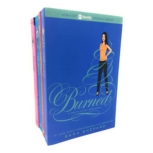 Pretty Little Liars 4 Books Box Set Collection By Sara Shepard, Burned Series 3