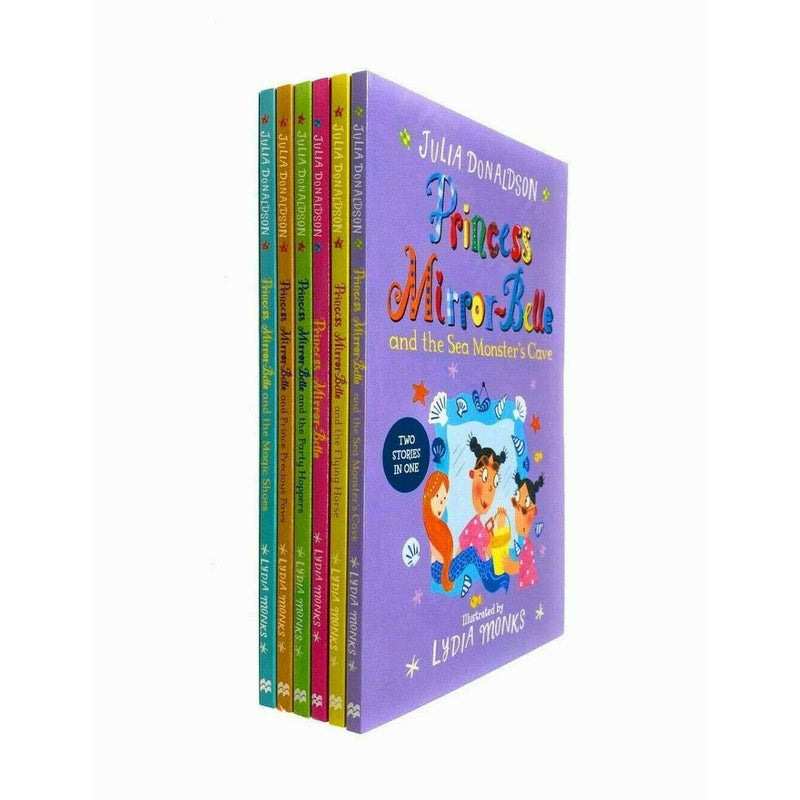 Princess Mirror-Belle 6 Books Set Collection Julia Donaldson and Lydia Monks