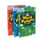 Bond Puzzle Brain Training For Kids 3 Books Collection Set Word, Number, Logic