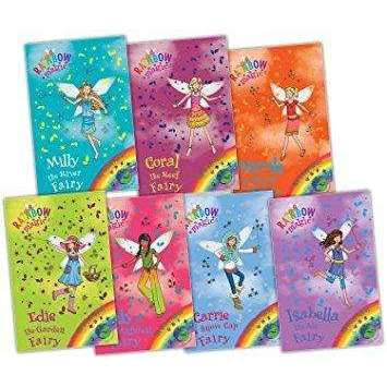 Rainbow Magic Green Fairies Collection 7 Books Set Daisy Meadows Series 12 (VOL 78 to 84)