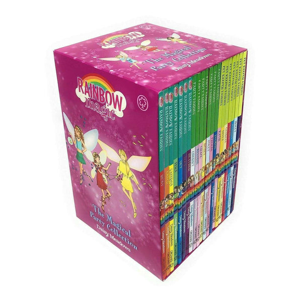 Rainbow Magic The Magical Party Collection 21 Books Set Including 3 Series