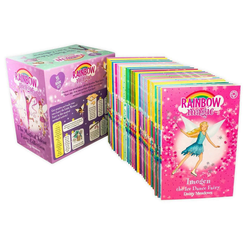 Rainbow Magic The Magical Talent Fairy 35 Book Set Collection Daisy Meadows
