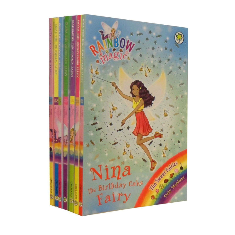 Rainbow Magic The Sweet Fairies Collection Daisy Meadows 7 Books Set Series 19 (Vol 127 - 133)