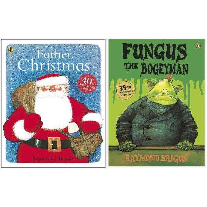 Raymond Briggs Fungus the Bogeyman and Father Christmas 2 Books Collection Sets