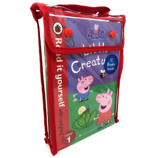 Read It Yourself With Ladybird Peppa Pig 10 Books Set Collection In Plastic Case