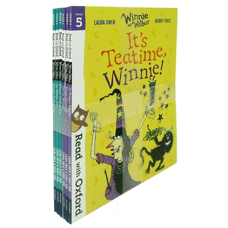 Read With Oxford Winnie The Witch And Wilbur Collection 6 Books Set